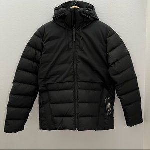 Adidas Urban Down Fill Jacket Hooded Puffer Jacket Coat FT2437 Size M $180 MSRP